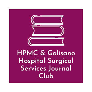 HPMC and Golisano Hospital Surgical Services Journal Club