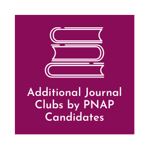 Additional Journal Clubs by PNAP Candidates